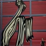 Sculptuur Roy Lichtenstein, Brushstroke (1996)