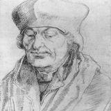 Albrecht Durer - Portret van Erasmus