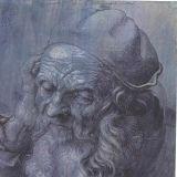 Albrecht Durer - Studie van het hoofd van een drieennegentig jaar oude man
