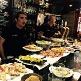 Bar met pintxos in San Sebastian