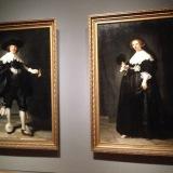 Rembrandts Marten en Oopjen op de tentoonstelling Rembrandt Velazquez in het Rijksmuseum