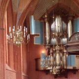 Orgelconcert speciaal voor de groep in de Jacobuskerk in Zeerijp
