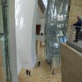 Interieur met het atrium