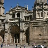 Westfront van de kathedraal